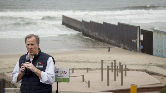 Meade Frontera Tijuana Muro Tecnologico PRI