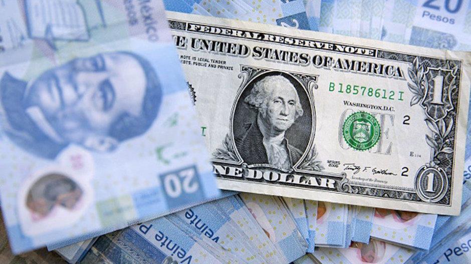 Peso Dólar rebasa barrera 20 pesos