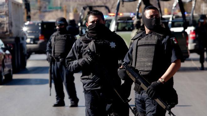 Policía Federal en Guanajuato en 2016