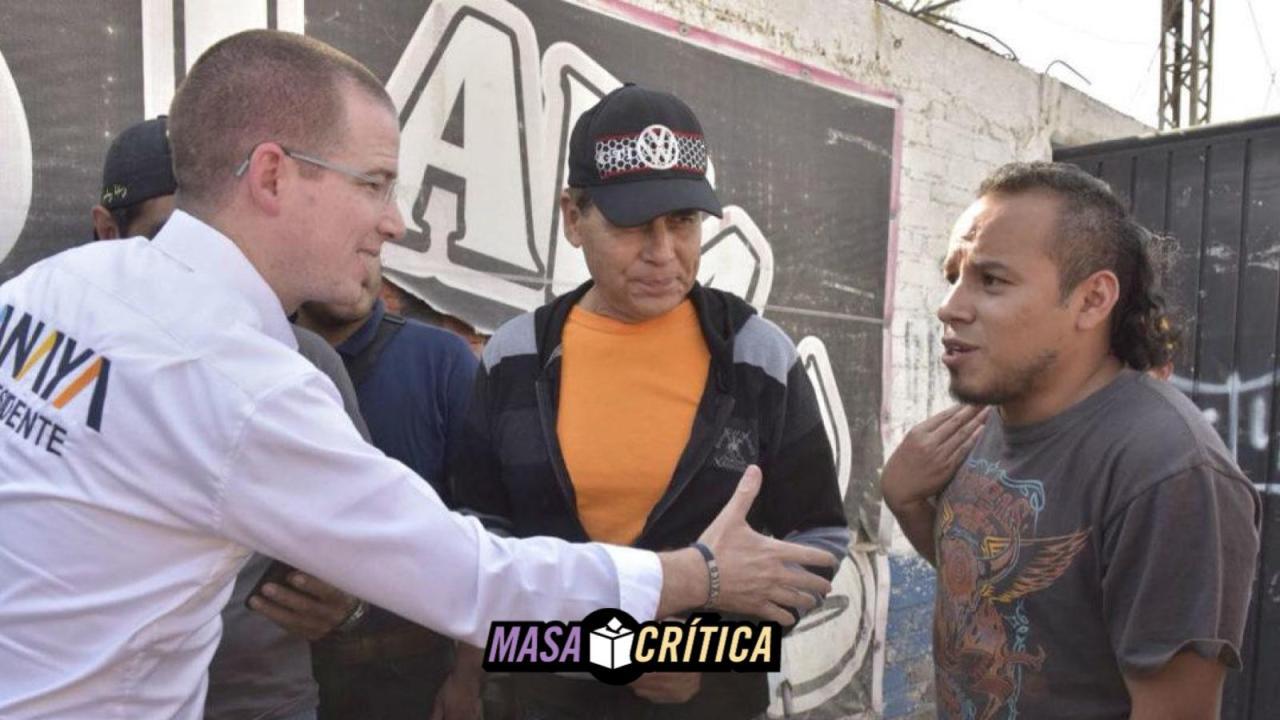 Anaya en Valle de Chalco: piden que no hable de AMLO