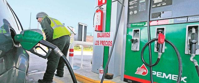 gasolina alza precio