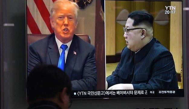 Trump cancela reunión con Kim Jung-UN