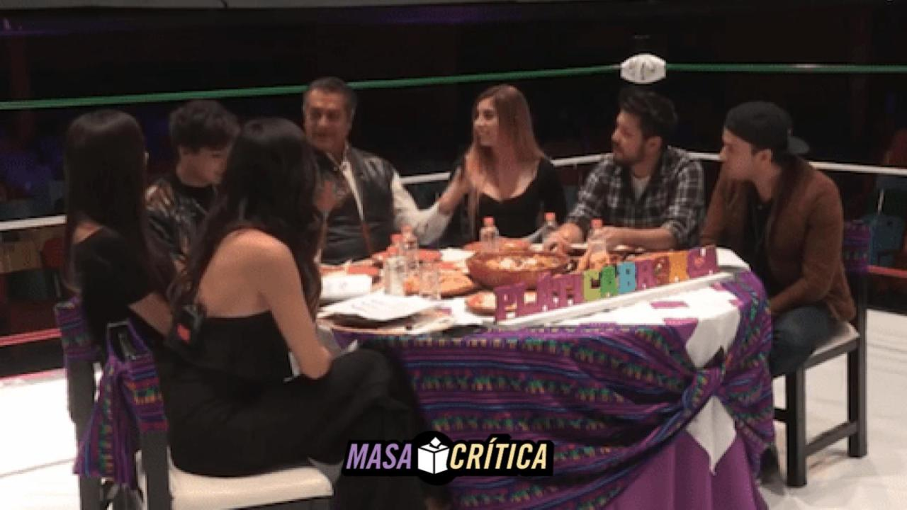 Bronco debate con influencers e integrantes de Acapulco Shore