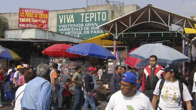 Detienen reordenación de Tepito luego de amenazas a trabajadores