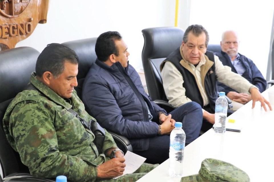 Reunión de alcaldes de Guanajuato y ejército para enfrentar violencia