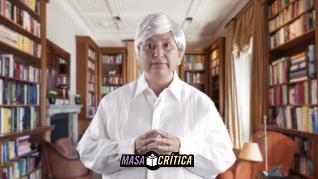 Xóchitl Gálvez se disfraza de AMLO para su nuevo spot