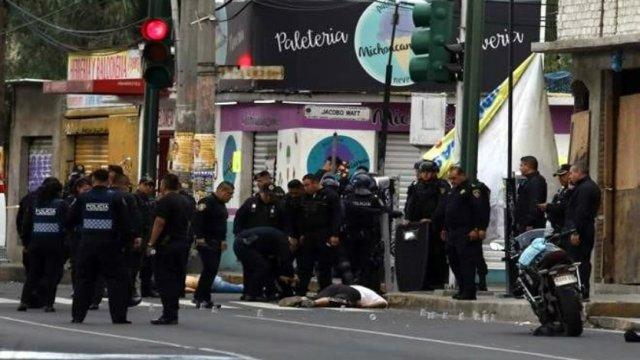 Enfrentamiento en Culhuacán: 25 detenidos y 4 muertos