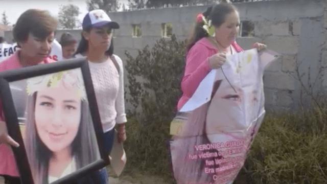 Marchan por cumpleaños de Lupita, víctima de feminicidio en el Estado de México