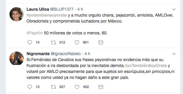 Fernández de Cevallos Orate AMLO Morena