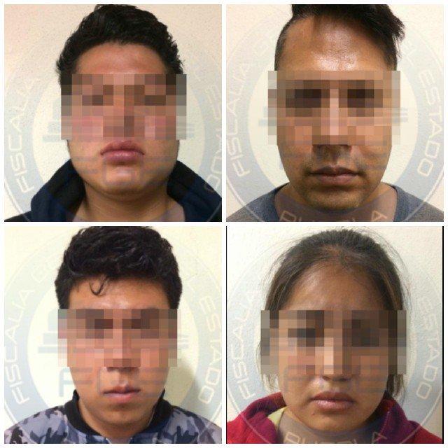 Estudiante de la BUAP Secuestradores Detenidos Aldo Puebla