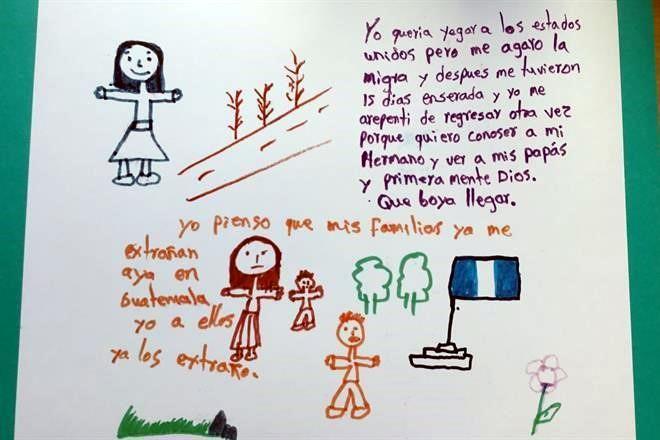 También en México los niños migrantes son separados de sus padres