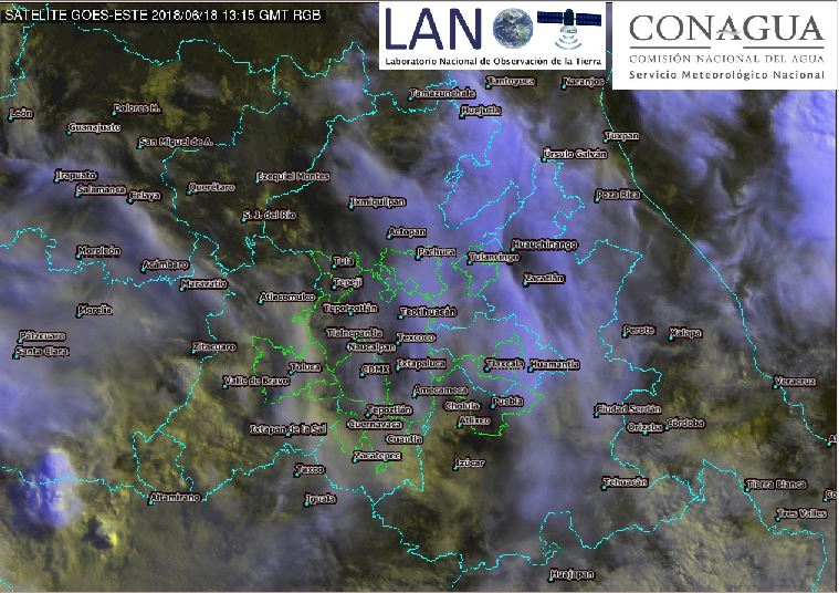 Pronostican semana de lluvias intensas en CDMX