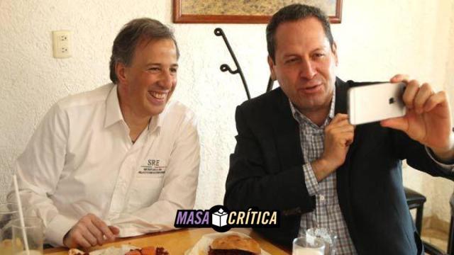 Eruviel: '650 mil porteros cuidarán victoria de Meade'