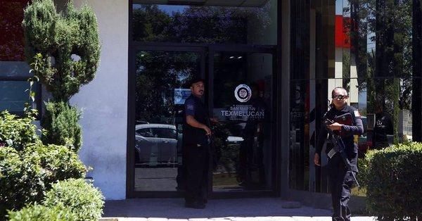 Policías de Texmelucan fueron detenidos por presuntos nexos con narco
