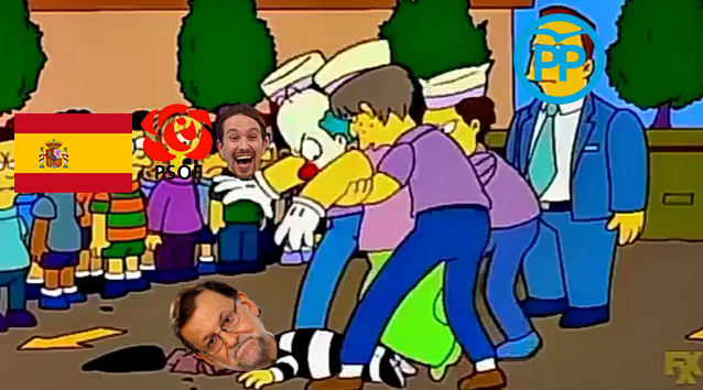 Mariano Rajoy se va hasta del Partido Popular