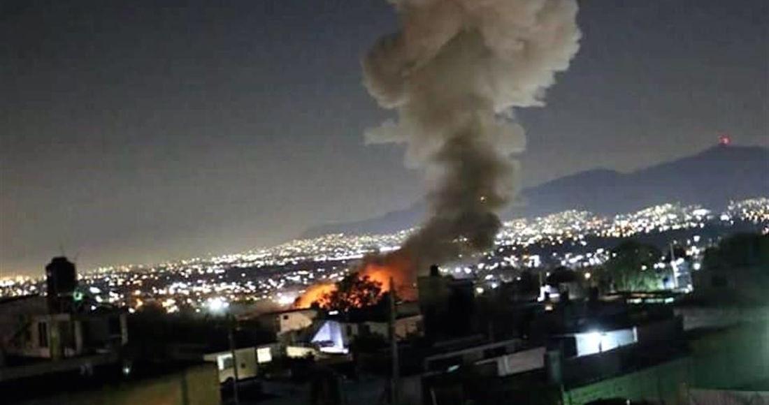 Explosiones en Tultepec dejan 5 muertos