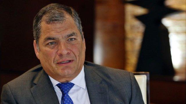 Rafael Correa Prisión Preventiva Interpol Ecuador