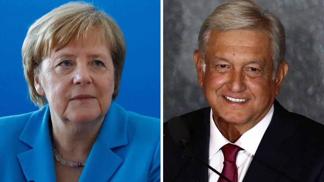 Angela Merkel Obrador AMLO Felicitación