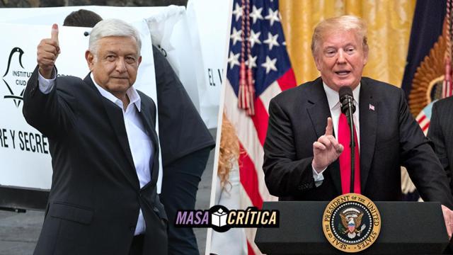 AMLO, Trump, Llamada