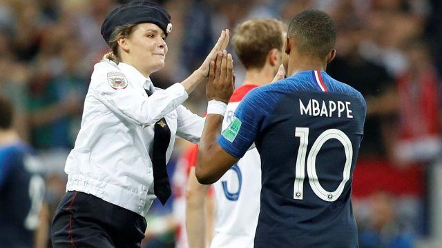 Pussy Riot y la protesta en la final del Mundial