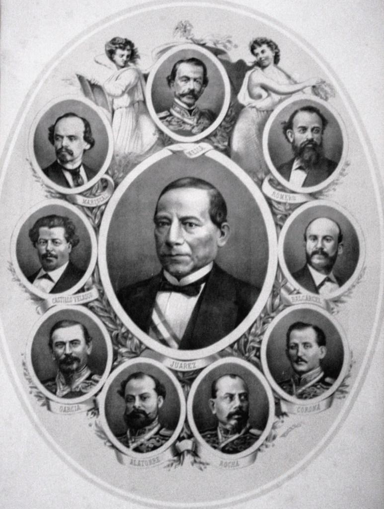 Gabinete del primer mandato de Benito Juárez