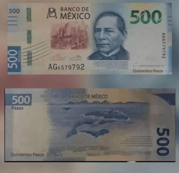 Billete 500, Banxico, Benito Juárez