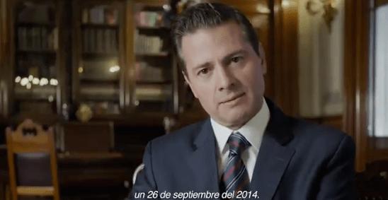EPN habla de Ayotzinapa en su sexto informe de gobierno