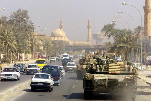 Rajársela en Buenavista y en Irak