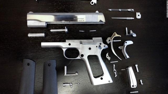 Pistolas impresas en 3D: ¿cómo es buena idea?