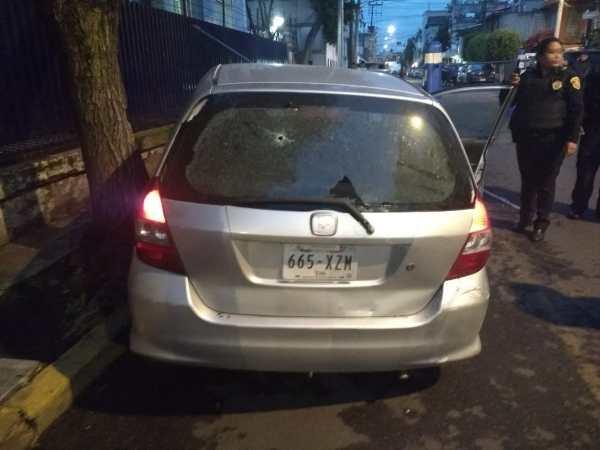Prisión preventiva para policía que mató a conductor en Iztacalco