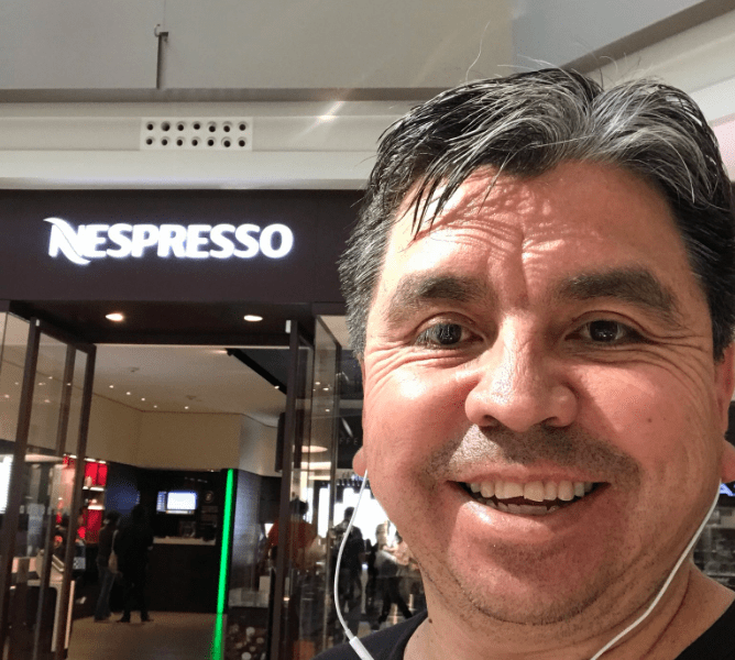 Eloy Lopez, Nespresso, Discriminacion