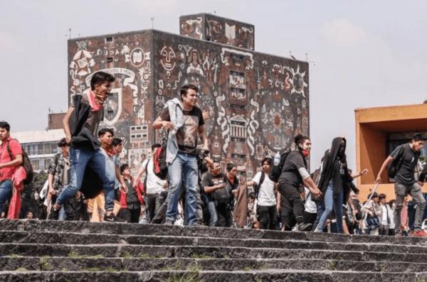 Entrevista Porro UNAM Ataques CU Políticos