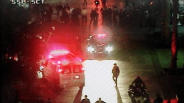 Balacera en Garibaldi: 3 muertos y 4 heridos