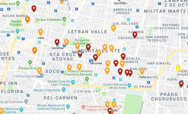 Colonia Portales, 19S, Sismo, Precios, Venta, Renta