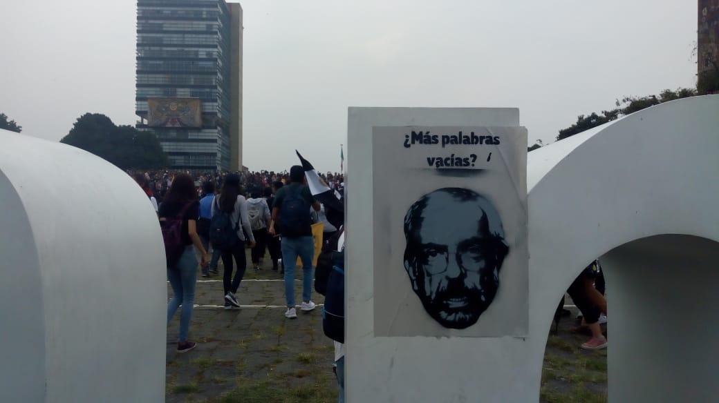 Facultades exigen renuncia de Graue a la UNAM