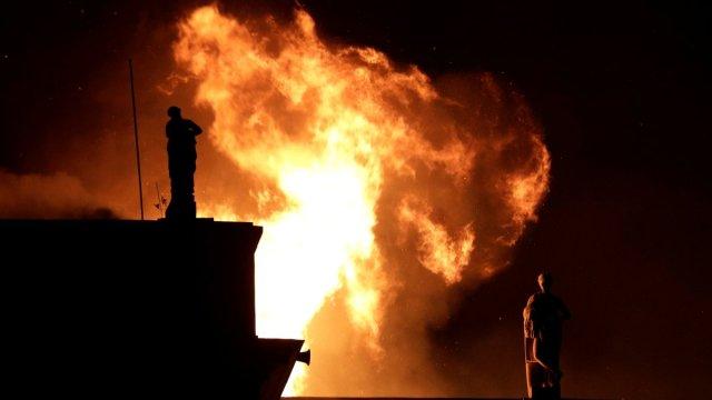 Incendio en Museo Nacional de Brasil destruye todo su acervo