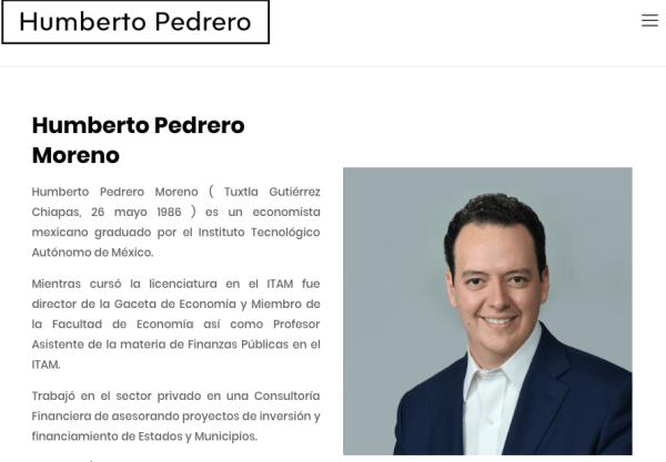 Humberto Pedrero, Morena, PVEM