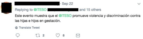 ITESO, Derecho a Decidir, Aborto, Guadalajara