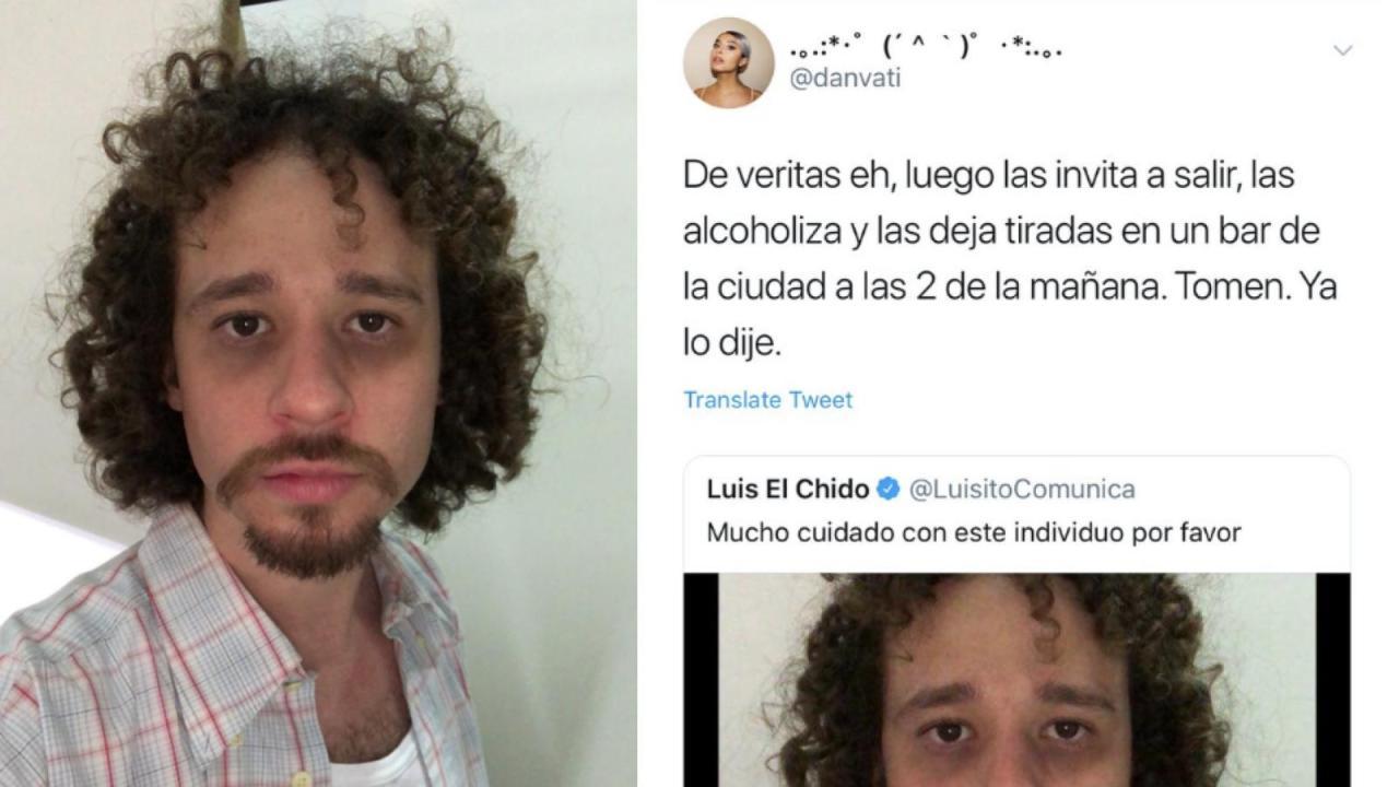 Luisito Comunica, Acusaciones, Twitter