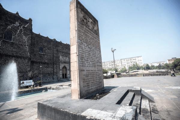Rectoría, UNAM, Monumentos, Memoriales, Tlatelolco, 1968