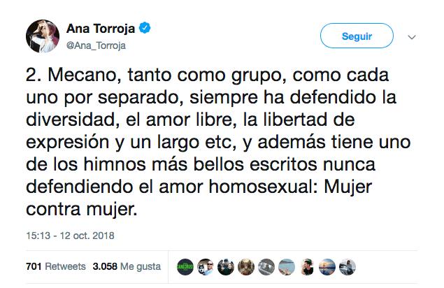 Mecano Canción Homófoba Letra Mariconez