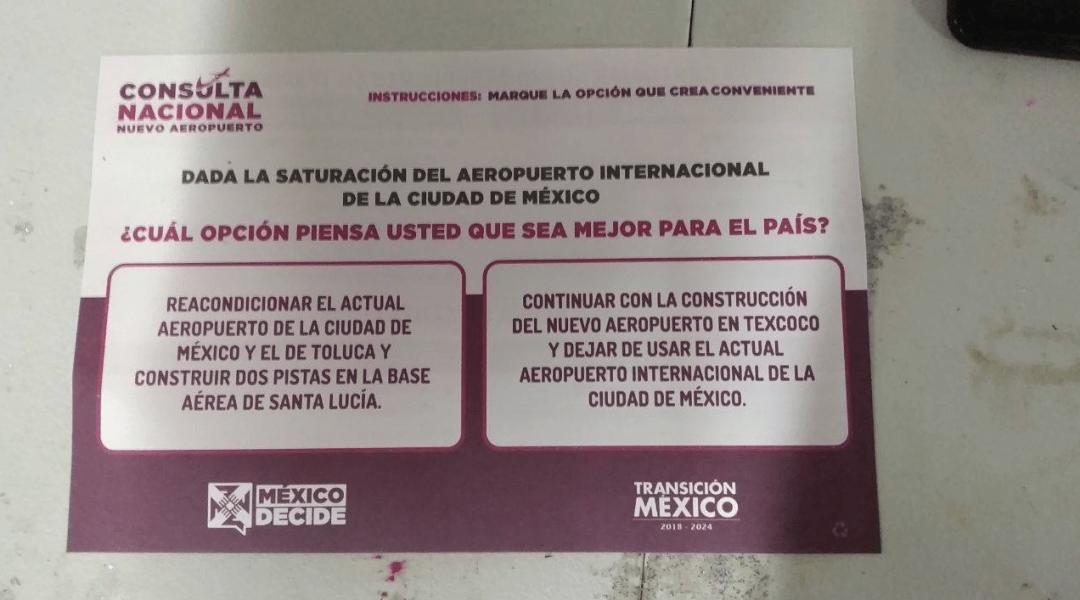 Consulta, NAIM, Boleta, Aeropuerto, Texcoco, Santa Lucía