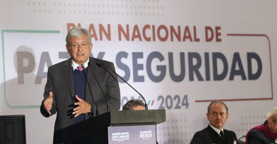 Críticas a Plan de Seguridad presentado por AMLO