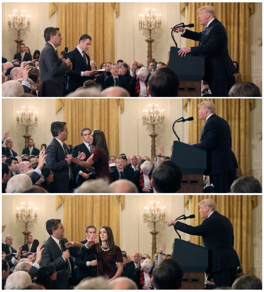 Casa Blanca truquea video para atacar a periodista