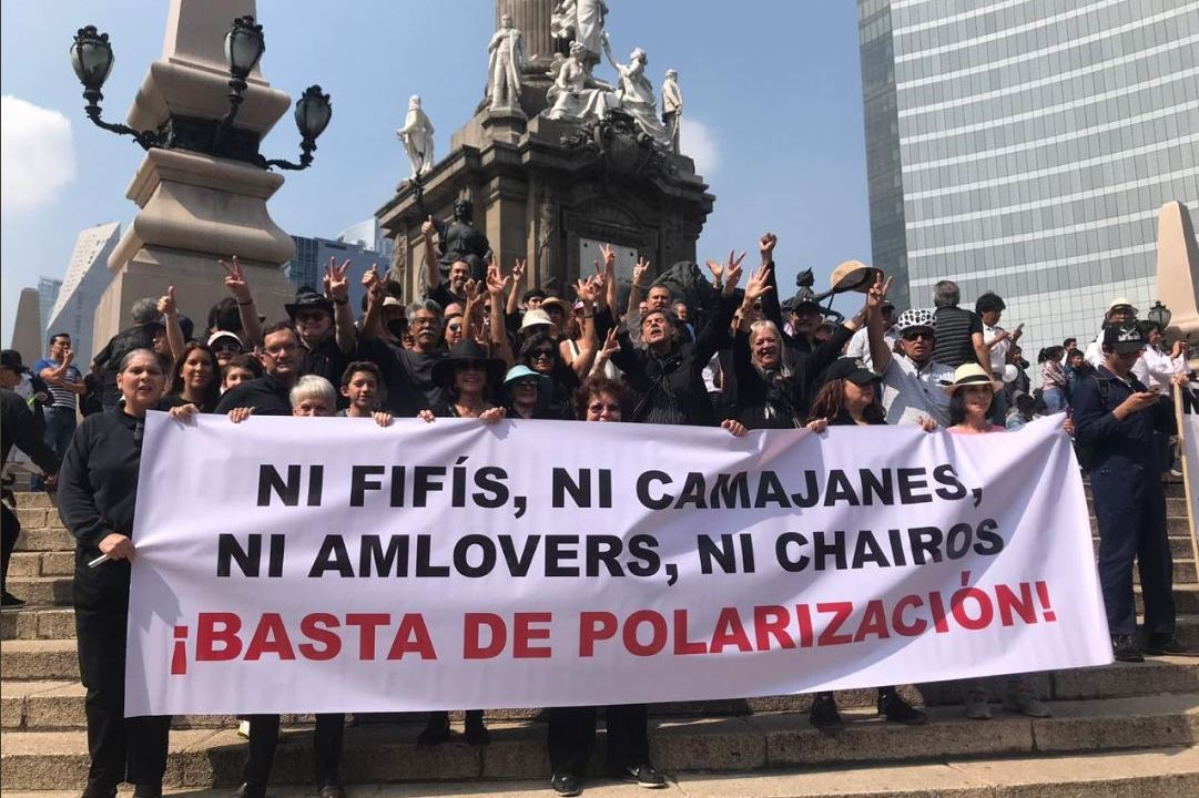 Marcha Fifi, Consignas, Aeropuerto, Texcoco, Chairos, Santa Lucía