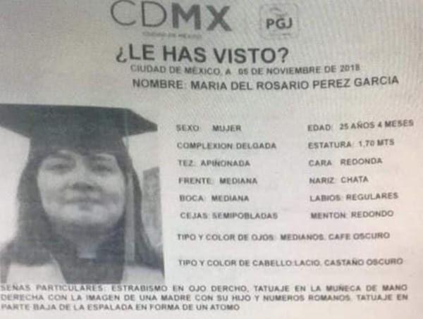 Estudiante, FES Cuautitlán, Asesinada