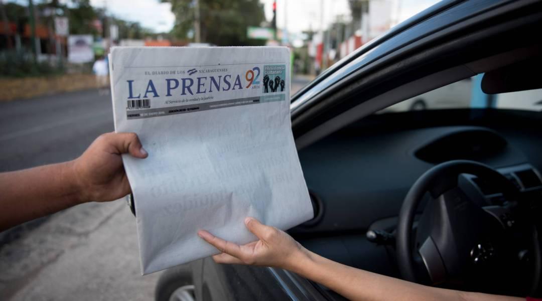 Peligran los dos principales diarios de Nicaragua La Prensa