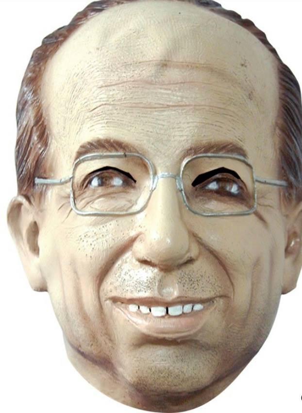 Máscara de látex de Felipe Calderón