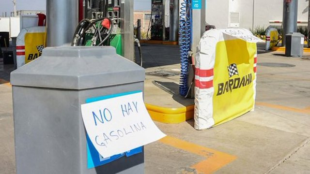 Desabasto gasolina estados cierre oleoductos