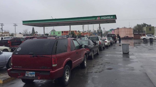 gasolina escasez